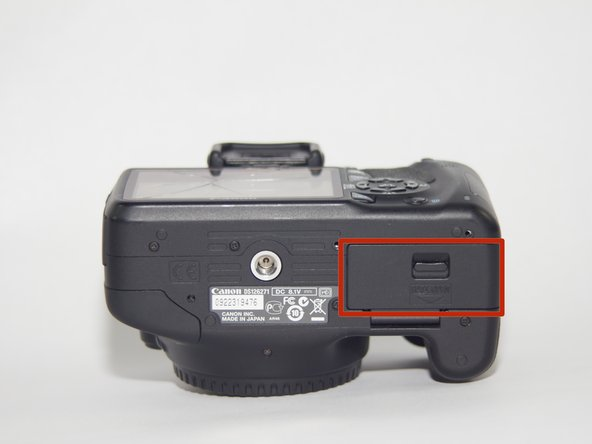 Canon EOS Rebel T2i Top Casing Replacement