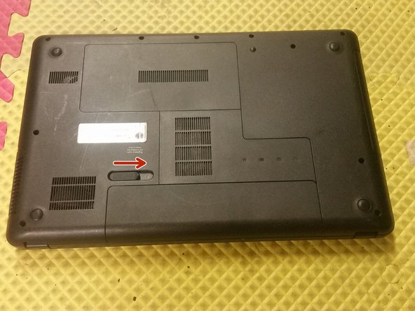 HP 2000-427CL Battery Replacement