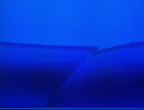 Sony TV image rough, missing color depth and pixelation - Sony