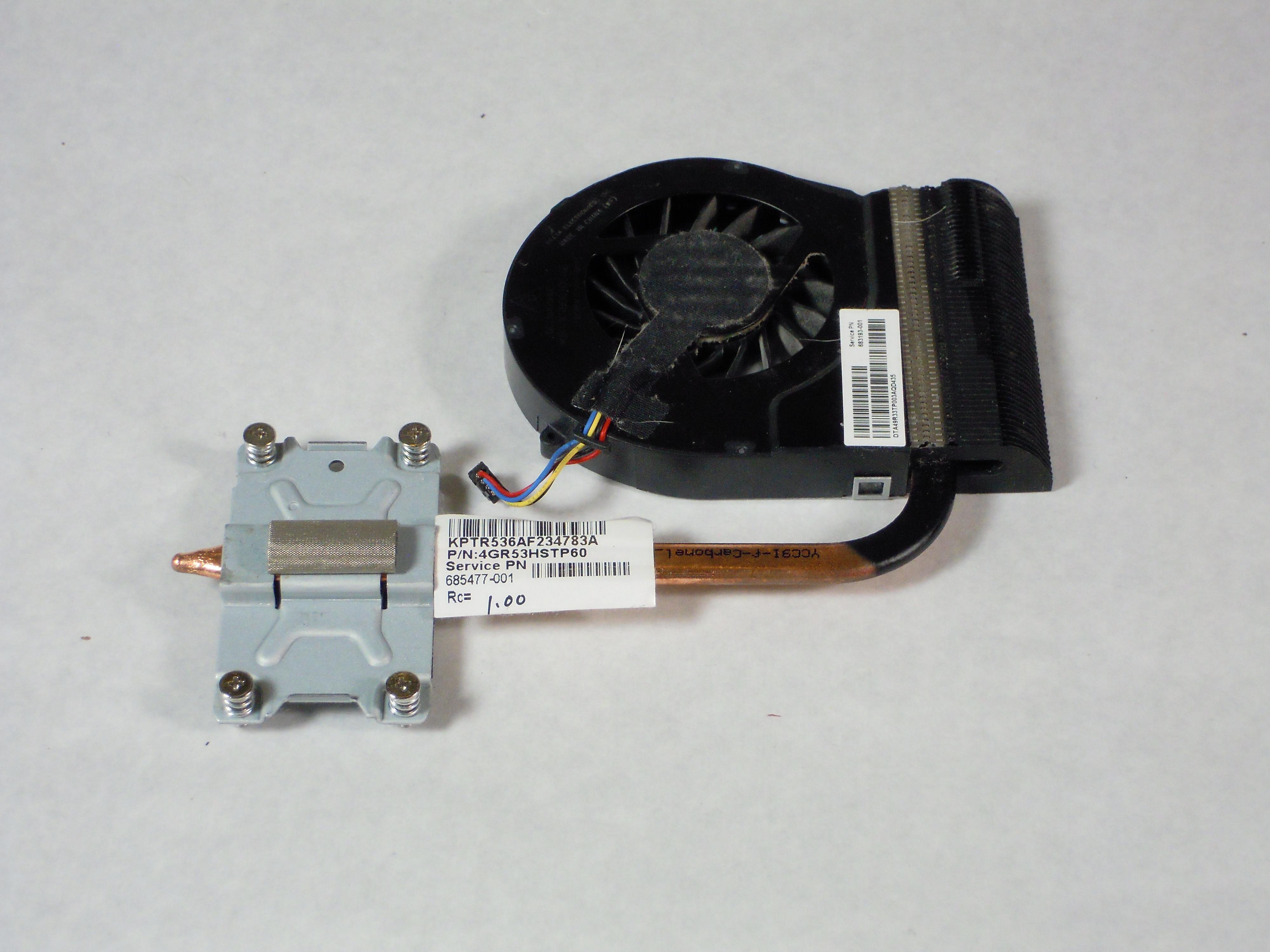 HP Pavilion g7-2275dx Fan Replacement