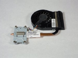 HP Pavilion g7-2275dx Fan Replacement