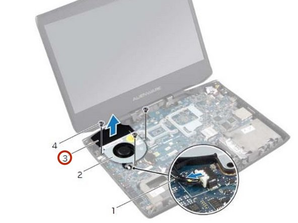 Dell Alienware 14 Fan Replacement - iFixit Repair Guide