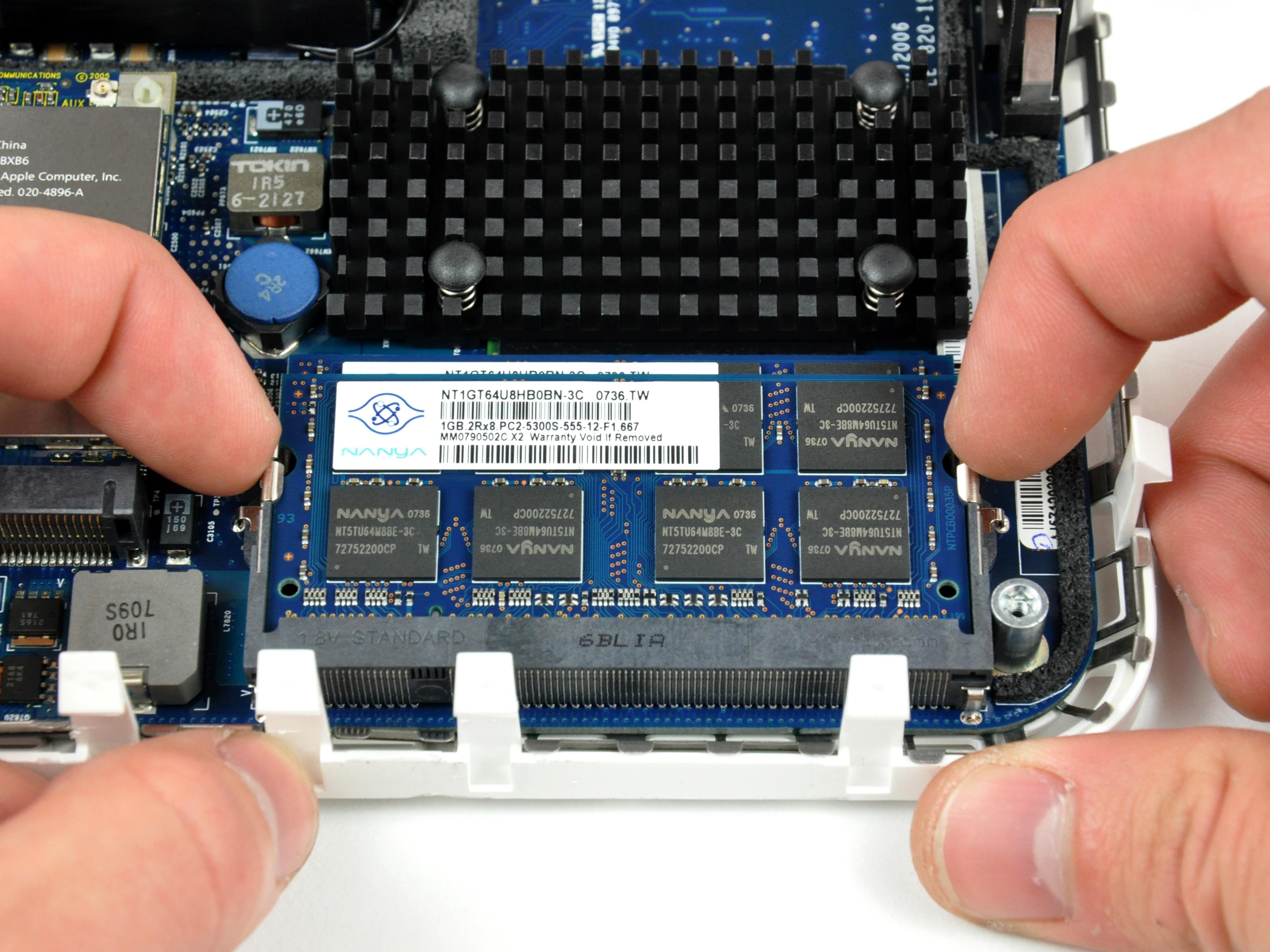 mac mini core duo disassembly