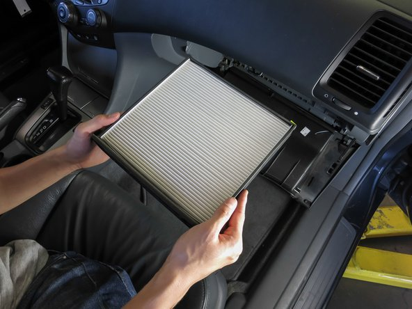 2005 Honda Accord Cabin Air Filter Replacement