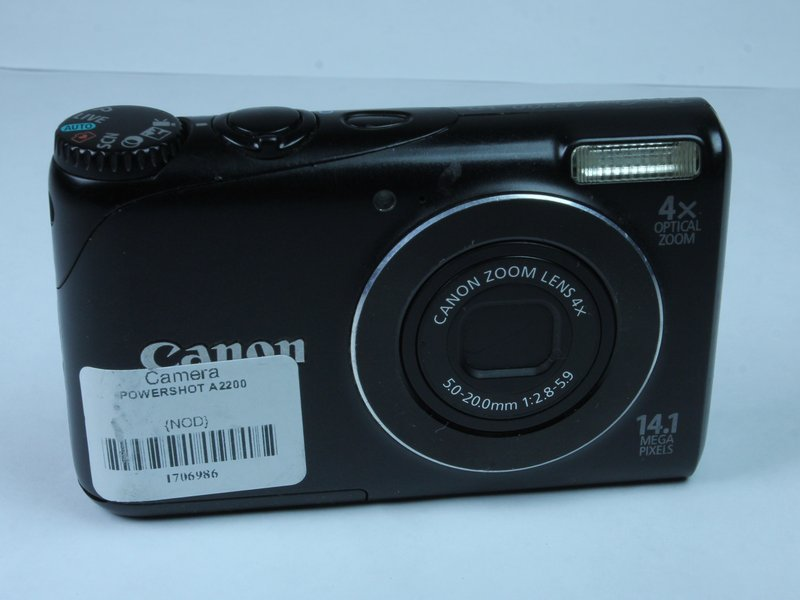 canon powershot a2200 troubleshooting ifixit rh ifixit com Canon PowerShot A2200 Walmart Canon PowerShot A2500