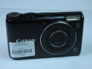 Canon PowerShot A2200 Troubleshooting