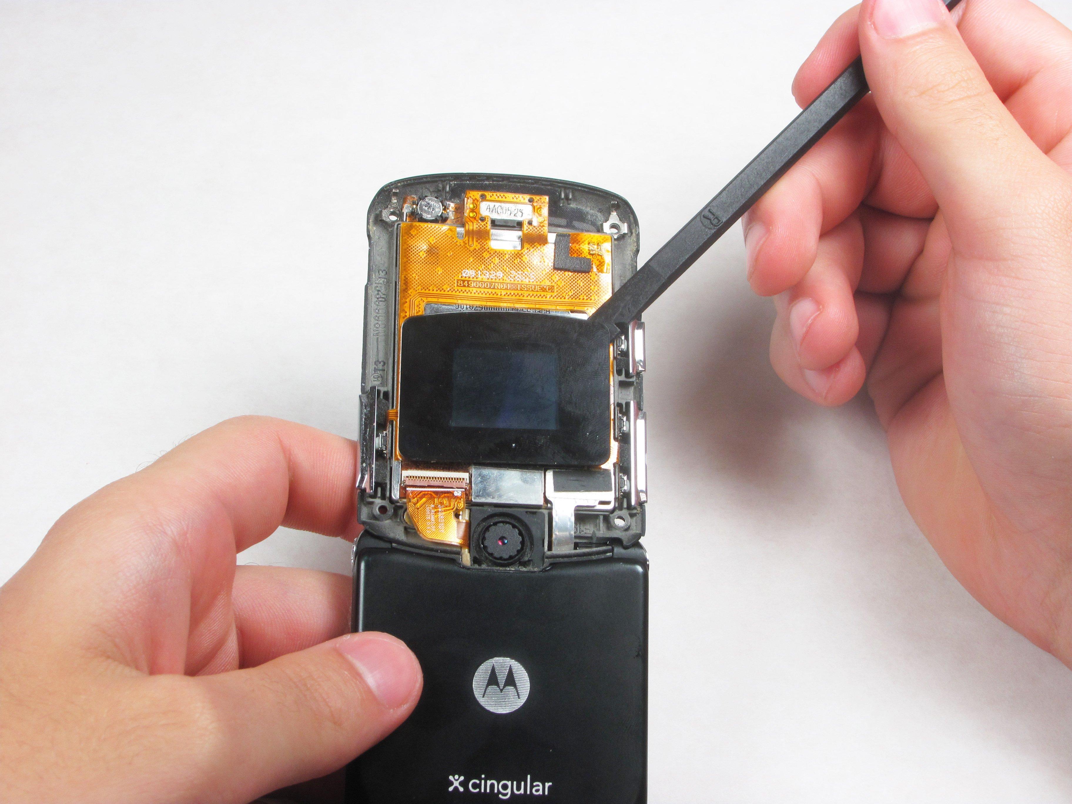 Motorola Razr V3 Lcd Screens And Call Speaker Replacement Ifixit Repair Guide