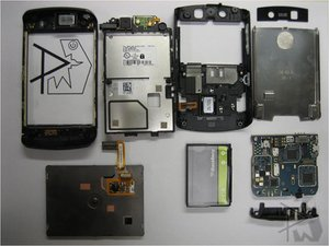 BlackBerry Storm Teardown