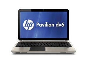 HP Pavilion DV6-6C40US Repair