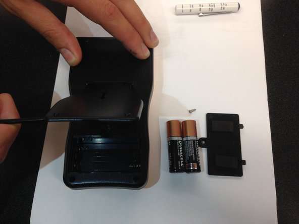 Remove battery case and batteries