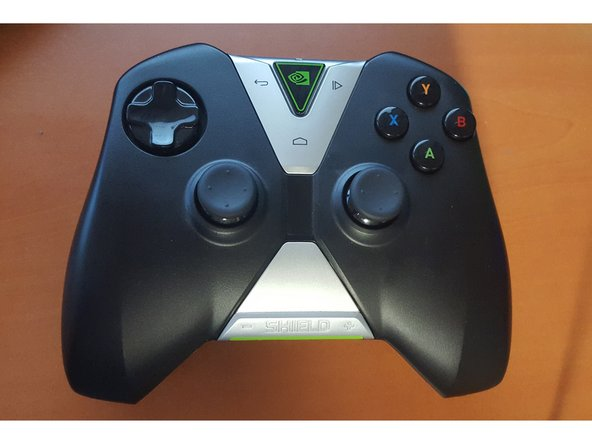 Nvidia Shield Normal Controller, without Display, so it's just a controller if you don't have other shield device