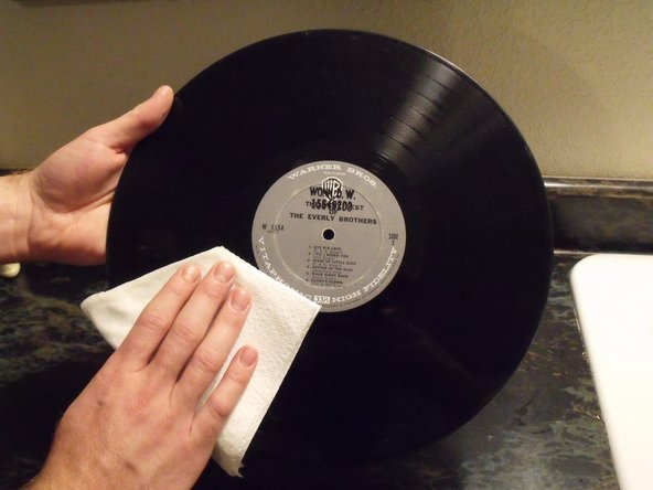 How to Repair LP Record Playing Surface