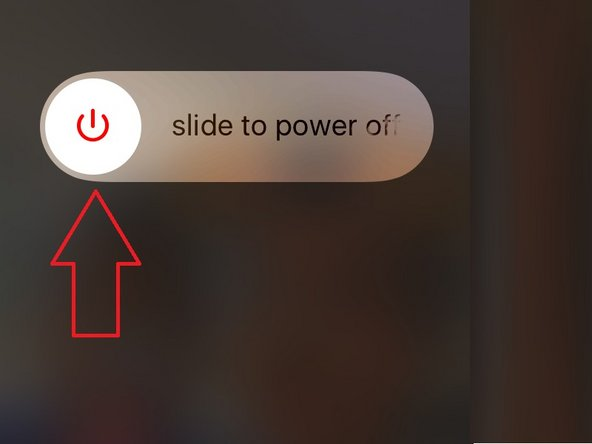 Press and hold the Sleep/Wake Button (Power Button) for about 4 or 5 Seconds.