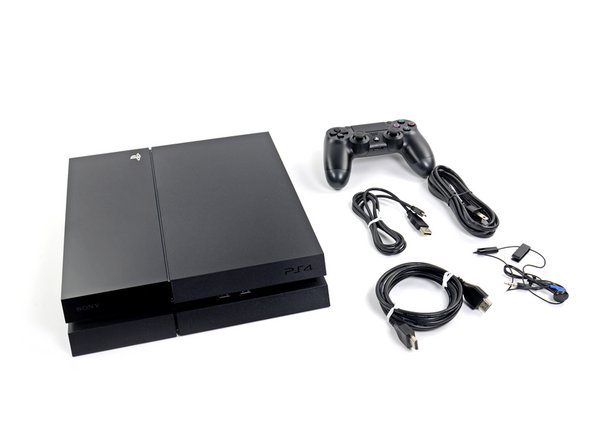 PS4 console (if this is missing from your box, please contact your Sony Computer Entertainment representative)