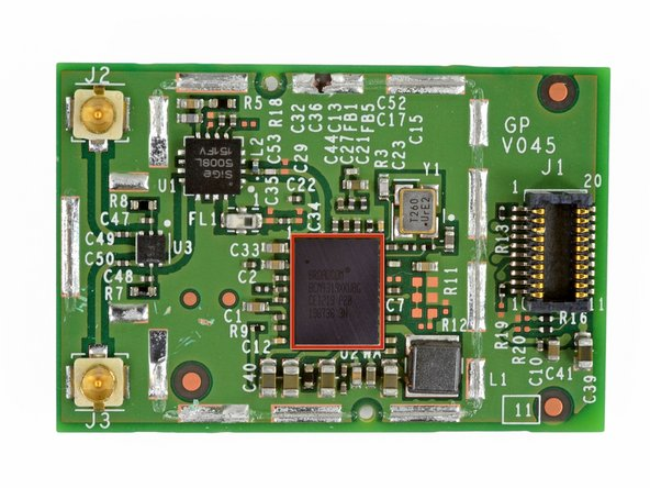 Image 2/3: The board is powered by a Broadcom BCM4319XKUBG.
