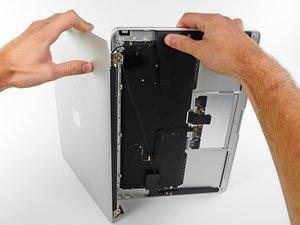"MacBook Air 13"" Mitte 2011 Displayeinheit austauschen"