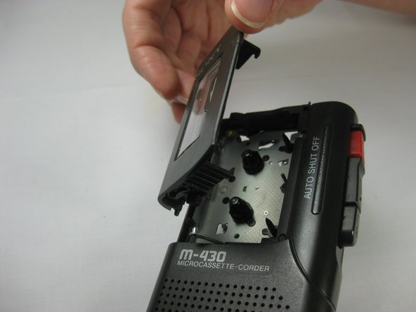 Sony M-430 Microcassette-Corder Cassette Lid Replacement