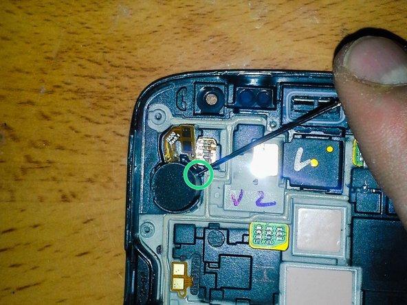 Remove vibrator.