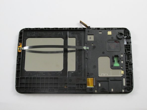 Battery is now removed. What is left is the entire LCD and Digitizer