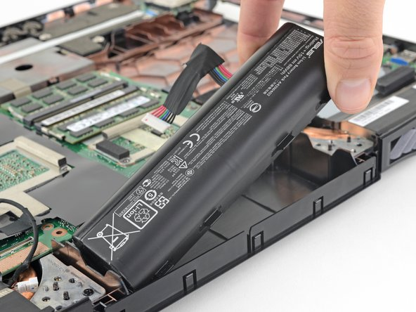 Asus ROG G751JL-BB17T29 Battery Replacement