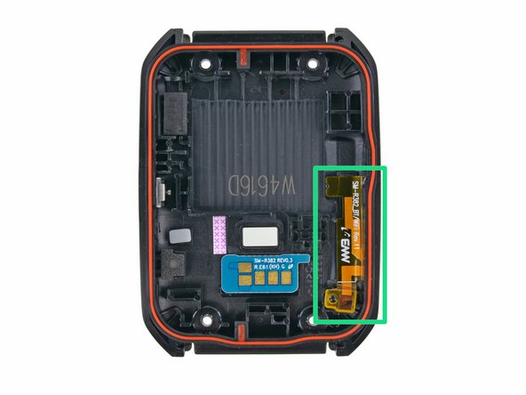 "Image 2/3: Also notable is the liquid damage indicator. So although this device is ""[https://play.google.com/store/devices/details/Samsung_Gear_Live_Black?id=samsung_gear_live_black&hl=en
