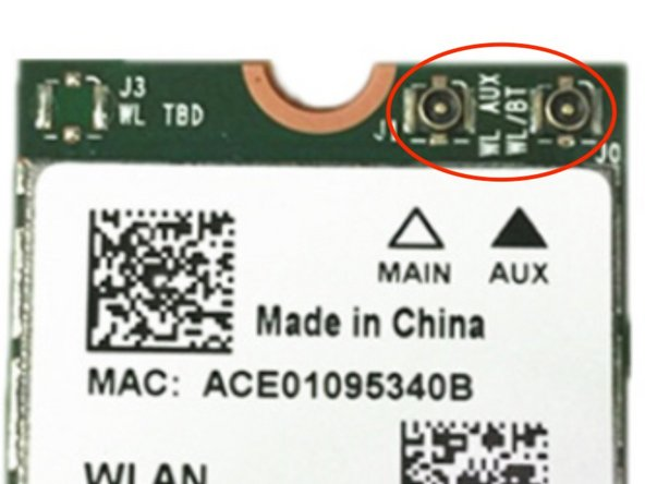 BE CAREFUL! The antenna socket is VERY FRAGILE. If you use brute force, the antenna socket on board (female) will be pull out with the male connector.