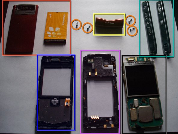 Image 1/1: Back Cover and Battery