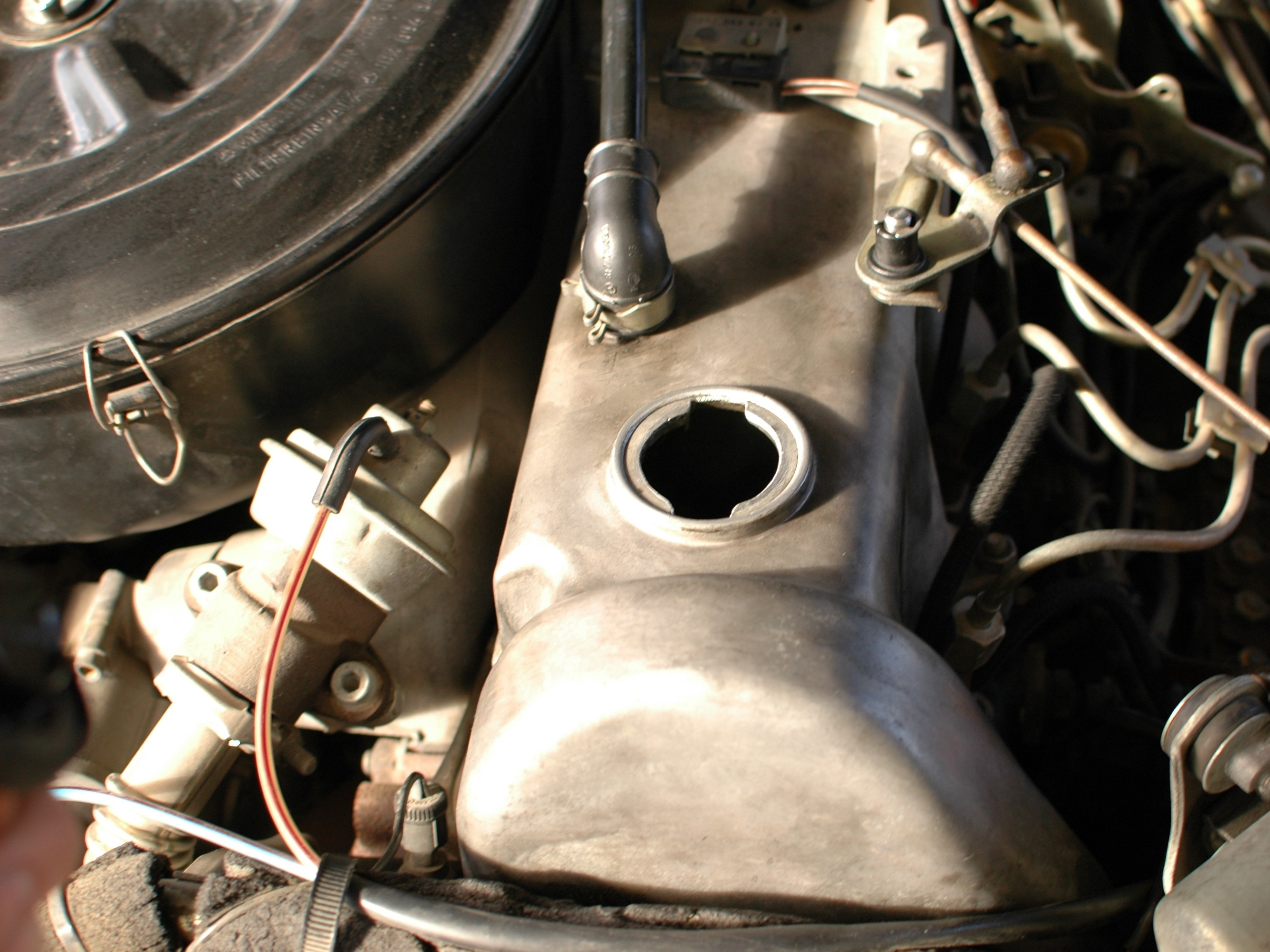 Mercedes W123 Repair Ifixit Engine Cooling System Diagram On 93 Nissan Truck Fuel Filter Basic Diesel Blow By Test Technique