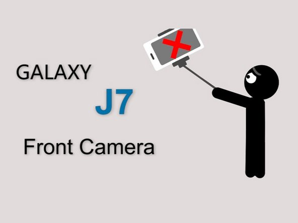 Samsung Galaxy J7 Front-facing Camera (video) Replacement