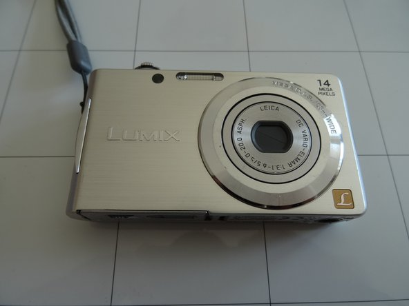 Panasonic camera DMC FS 16 CCD cleaning