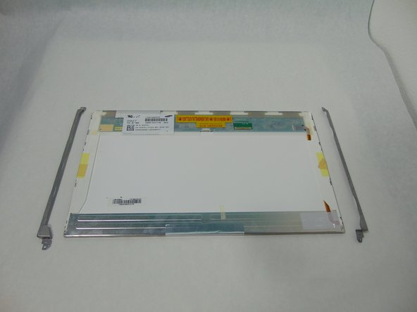 Image 2/3: You will have to transfer the mounting brackets to the new screen.