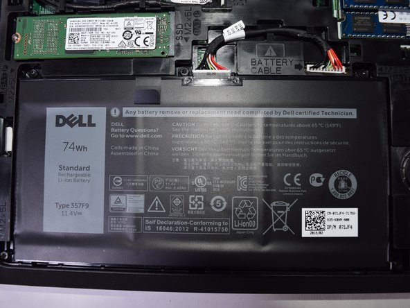 Dell Inspiron 15-7559 Battery Replacement