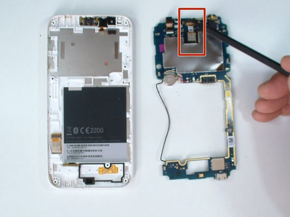 HTC Desire 510 Front and Main Cameras Replacement