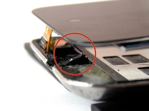 How to properly install the flex cable on the 4th Generation Touch