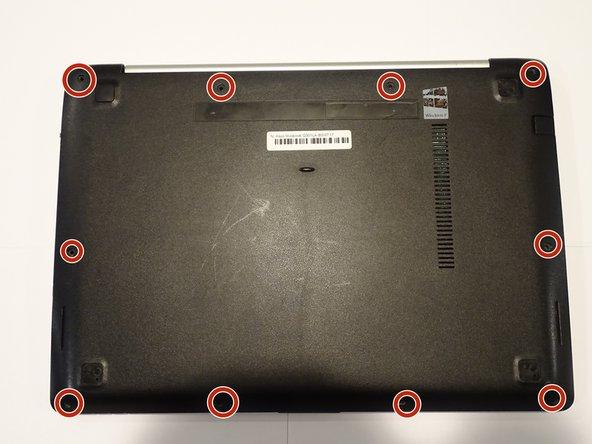 ASUS Vivobook Q301LA-BSI5T17 Back Case Housing Replacement