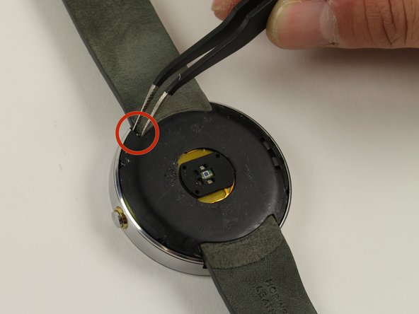 Motorola Moto 360 Wrist Strap Replacement