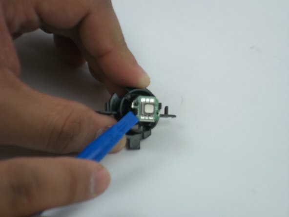 Image 1/2: After the board is loose, remove the LED board.