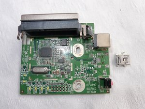 Temporary repairing Western Digital Essentials HD de-soldered USB connector