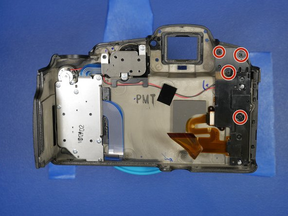 To get further access to the LCD, Remove the 4 screws holding on the plastic cover to the back of the unit.