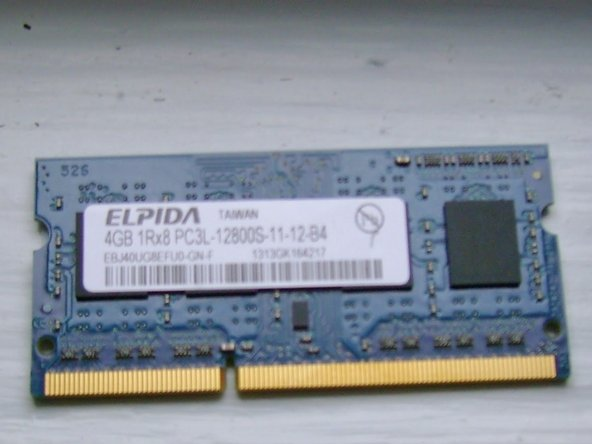 The above 8GB memory module was sourced from memoryamerica.com, but you may find better deals elsewhere.