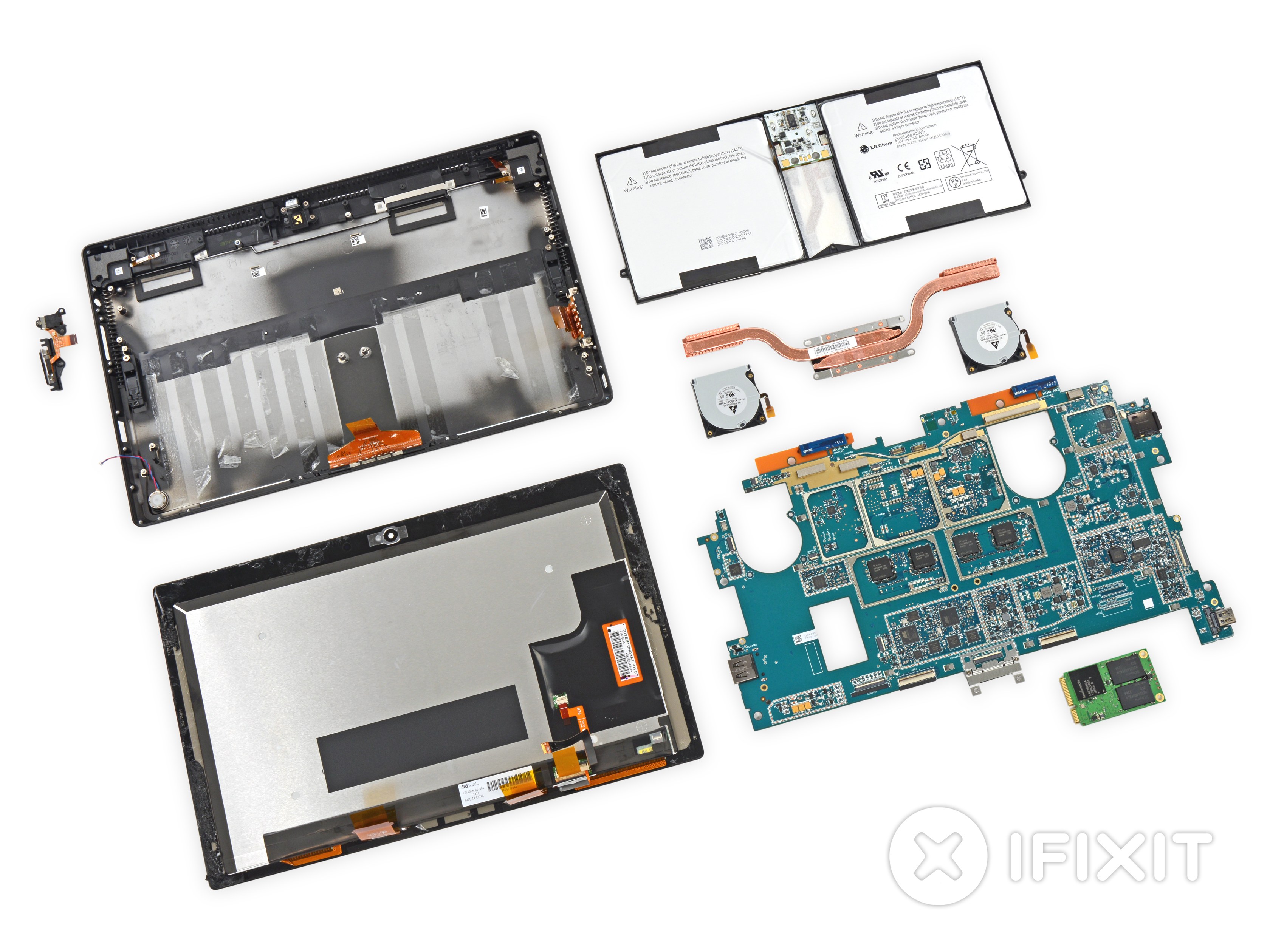 Microsoft Surface Pro 2 Teardown Ifixit Basic Circuit Bending Tutorial