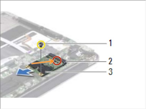 Align the notch on the NEW solid-state drive with the tab in the system-board connector.