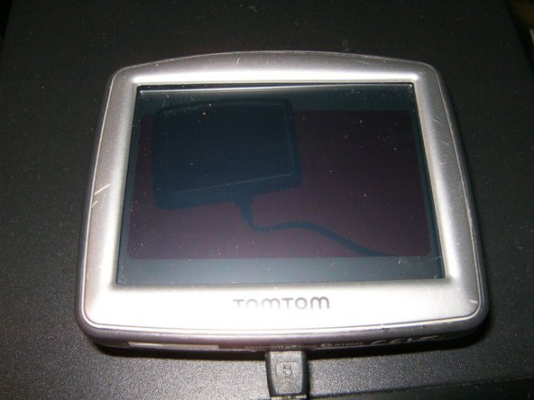 Final result is a refreshed looking and  working TomTom
