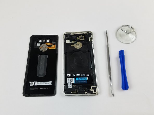 Follow around the edge of the phone, and use an opening pick or other tool (such as a plastic card) to keep already opened portions from re-adhering.