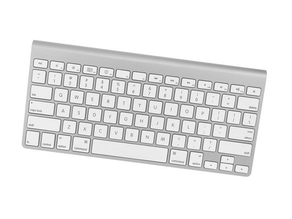 How to Repair Apple Wireless Keyboard A1314 - Doesn't Turn On
