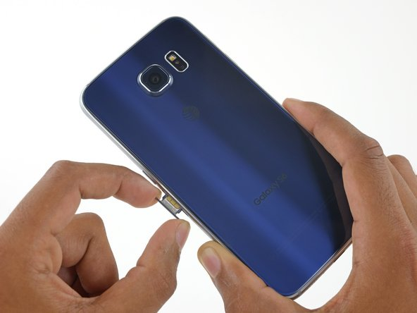 how to put sim card into samsung galaxy s6