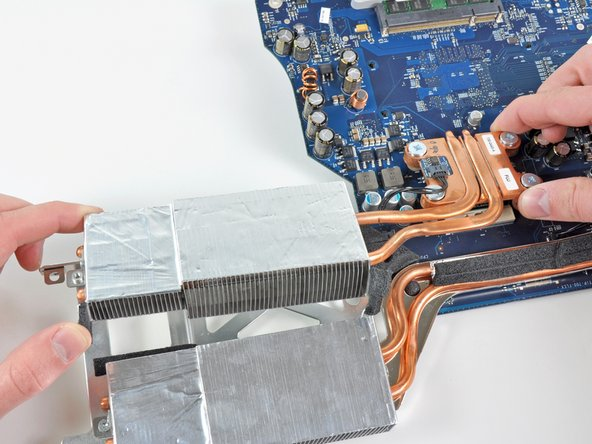 Image 1/1: Before reinstalling the CPU heat sink, be sure to apply a new layer of thermal paste. We have a [guide|744|guide] that makes it easy.
