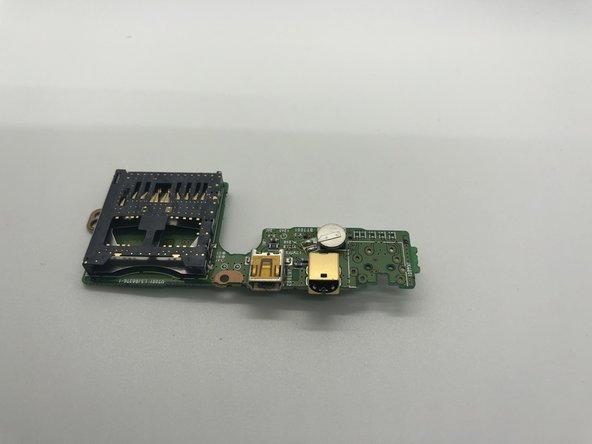 Panasonic VDR-D220 DVD AV and Micro USB Data Ports Replacement