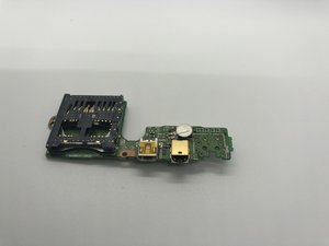 AV and Micro USB Data Ports