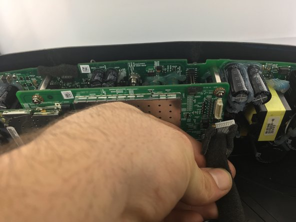 Remove the ten pin connector.
